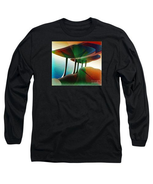 Rainbow Trees Long Sleeve T-Shirt