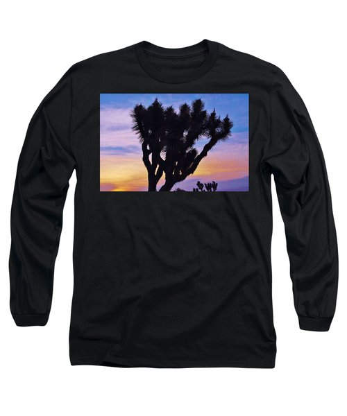 Long Sleeve T-Shirt featuring the photograph Rainbow Yucca by Angela J Wright
