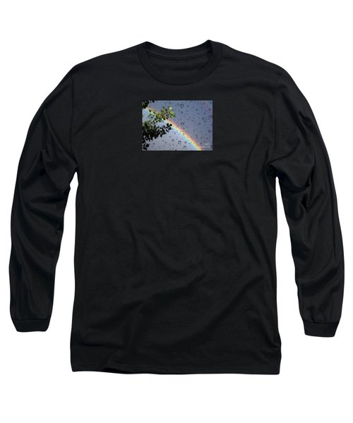 Long Sleeve T-Shirt featuring the photograph Raindrops by Janice Westerberg