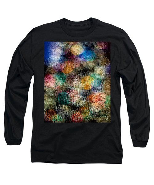 Long Sleeve T-Shirt featuring the photograph Rainy Day Christmas by Aaron Aldrich