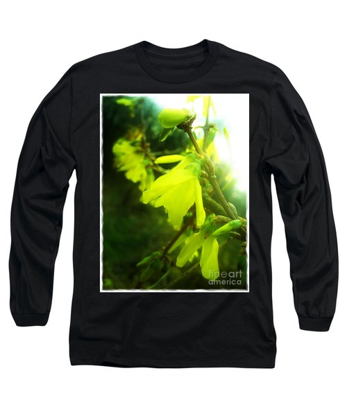 Long Sleeve T-Shirt featuring the photograph Rainy Dream by Nina Ficur Feenan