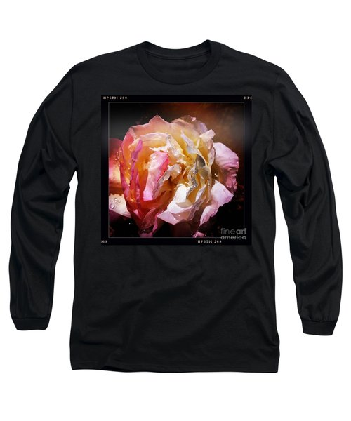 Rainy Rose Long Sleeve T-Shirt