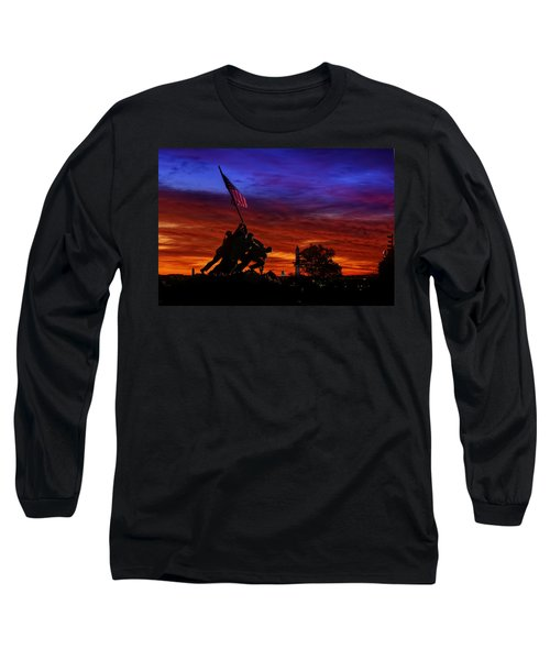 Raising The Flag Long Sleeve T-Shirt