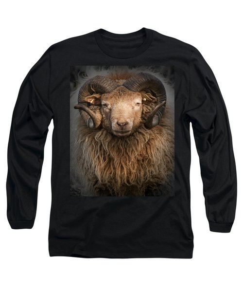 Ram Portrait Long Sleeve T-Shirt
