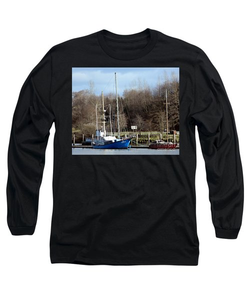 Raymond Fishing Boats Long Sleeve T-Shirt by Chalet Roome-Rigdon