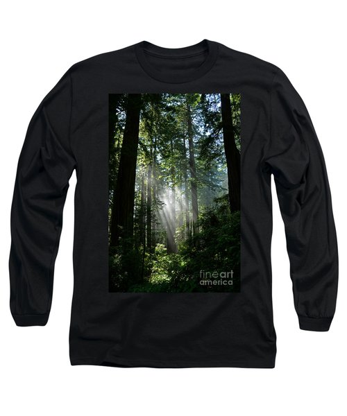 Rays In Redwoods Long Sleeve T-Shirt