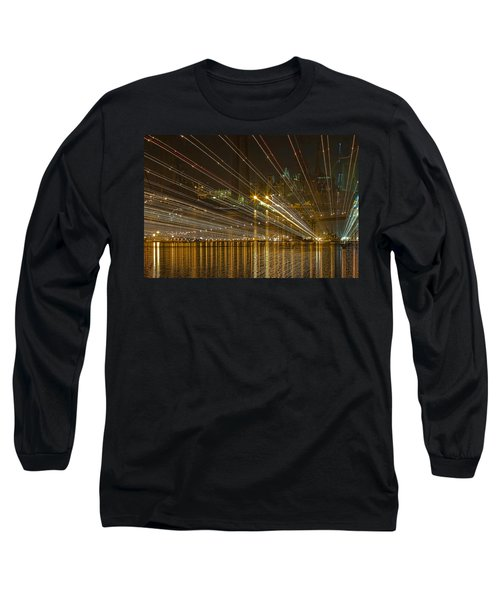 Rays Over The Bay Long Sleeve T-Shirt by Gary Holmes