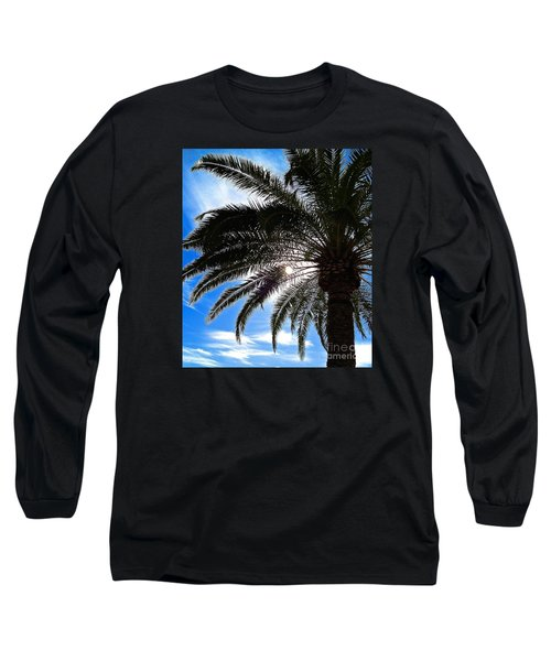 Reaching For Heaven Long Sleeve T-Shirt by Margie Amberge