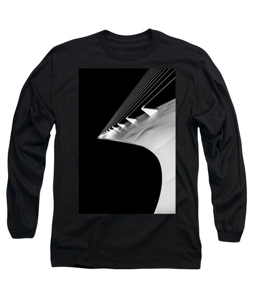 Reading A Sundial At Midnight Long Sleeve T-Shirt by Alex Lapidus