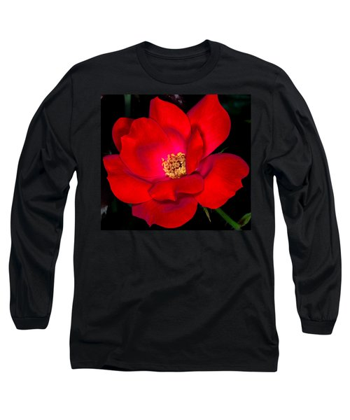 Real Red Long Sleeve T-Shirt