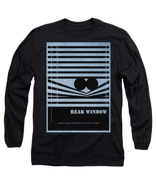 Rear Window Long Sleeve T-Shirt by Ayse Deniz