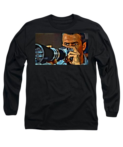 Rear Window Long Sleeve T-Shirt by Florian Rodarte