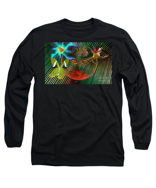 Rebirth Of Life Long Sleeve T-Shirt by Joseph Mosley