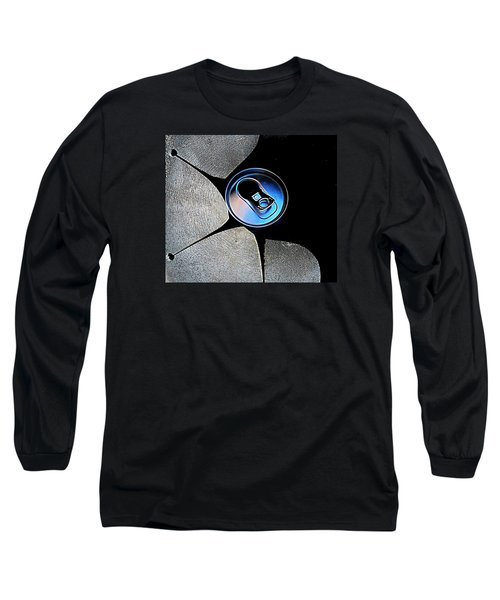 Recycled Can In A Recycle Bin Long Sleeve T-Shirt