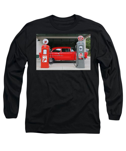 Red 55 Long Sleeve T-Shirt