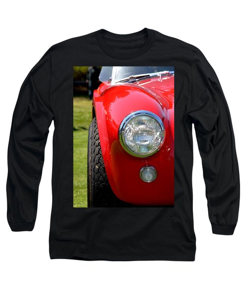Long Sleeve T-Shirt featuring the photograph Red Ac Cobra by Dean Ferreira