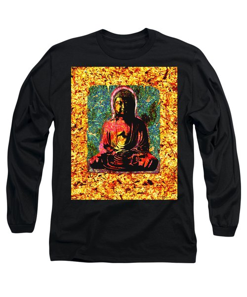 Red Buddha Long Sleeve T-Shirt