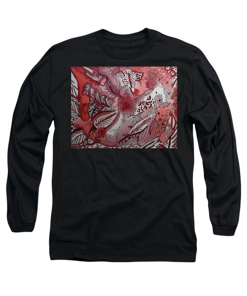 Red Chakra Long Sleeve T-Shirt