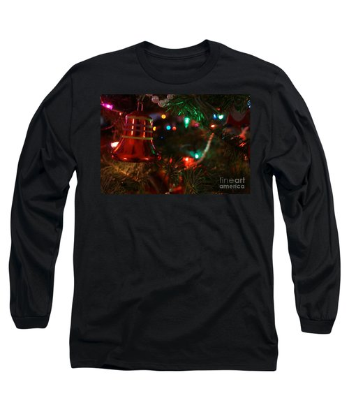 Red Christmas Bell Long Sleeve T-Shirt