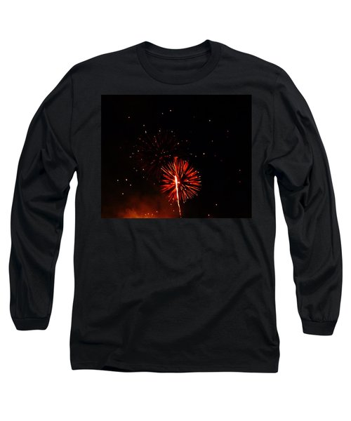 Long Sleeve T-Shirt featuring the photograph Red Dahlia by Amar Sheow