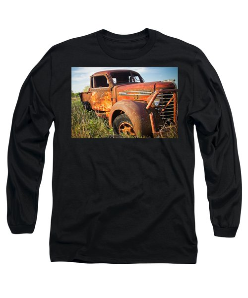 Long Sleeve T-Shirt featuring the photograph Red Diamond by Steven Bateson