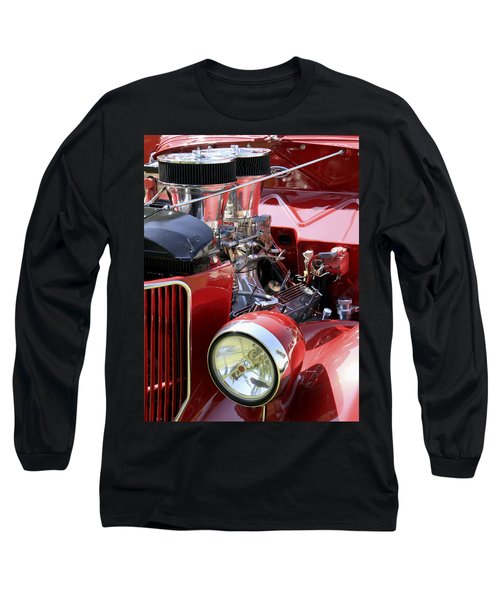 Red Ford Long Sleeve T-Shirt