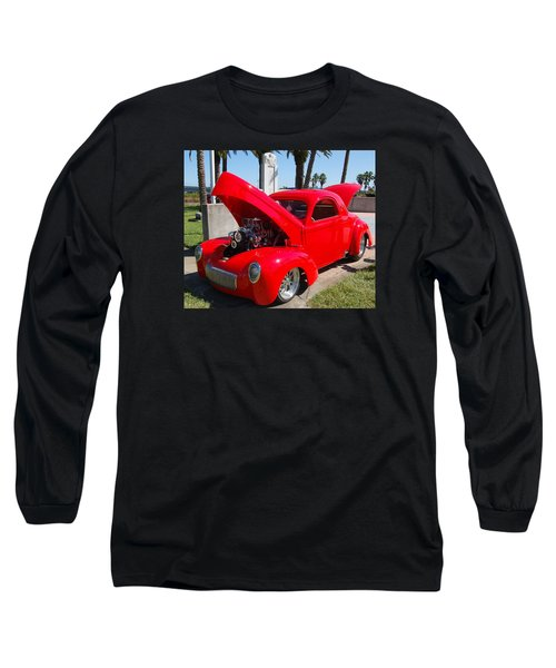 Red Hot Long Sleeve T-Shirt