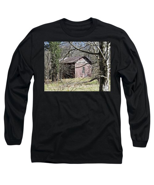 Long Sleeve T-Shirt featuring the photograph Red House by Nick Kirby