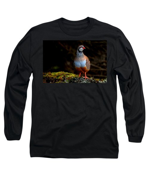 Red-legged Partridge Long Sleeve T-Shirt
