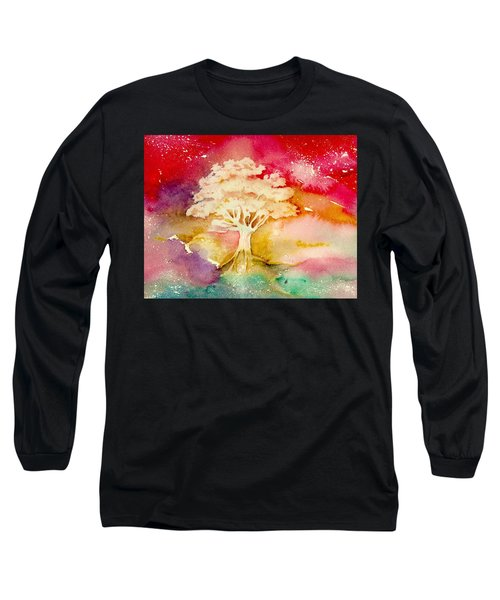 Red Night Long Sleeve T-Shirt
