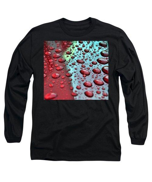 Red Rain Long Sleeve T-Shirt