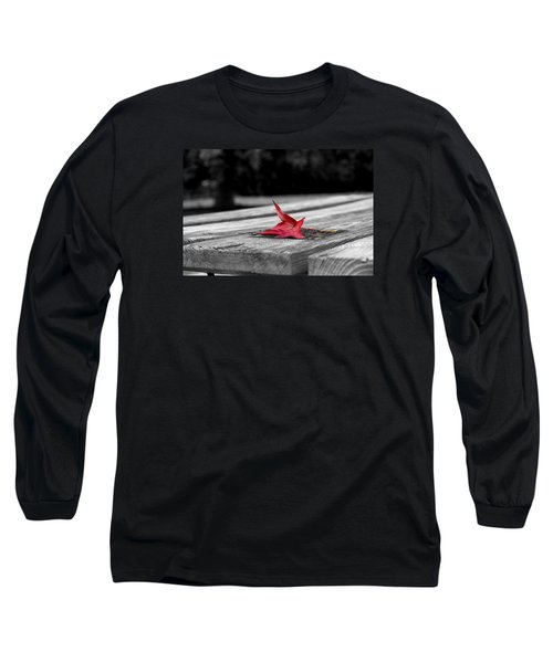 Long Sleeve T-Shirt featuring the photograph Red by Rebecca Davis