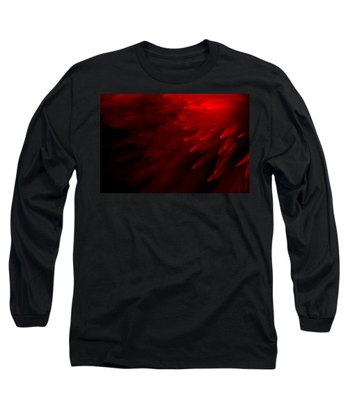 Red Skies Long Sleeve T-Shirt by Dazzle Zazz