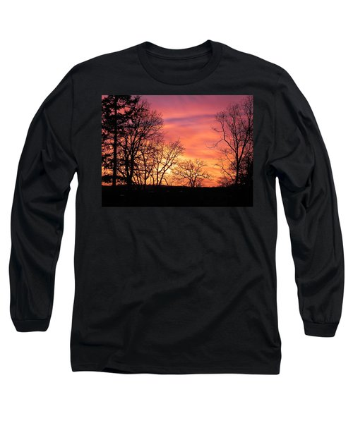 Red Sky At Night Sailor's Delight Long Sleeve T-Shirt