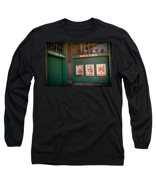 Red Sox Tickets Will Call Long Sleeve T-Shirt