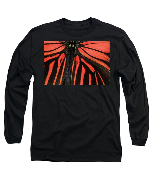 Long Sleeve T-Shirt featuring the photograph Red Wings by Sonya Lang