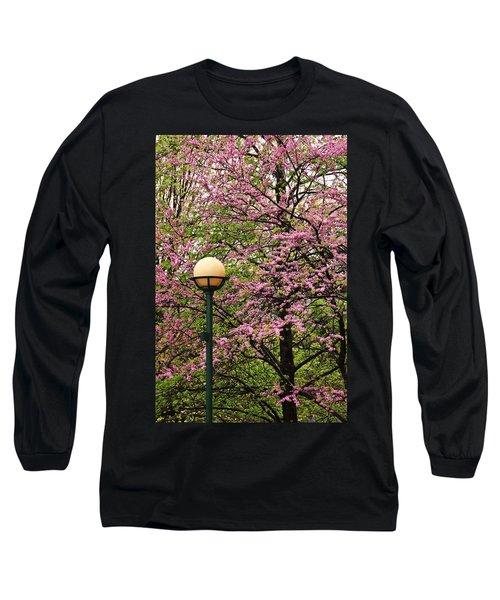 Redbud And Lamp Long Sleeve T-Shirt