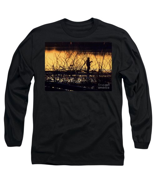 Reeling In A New Day Long Sleeve T-Shirt
