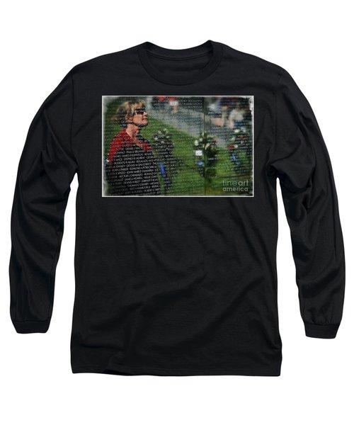Reflect Long Sleeve T-Shirt by Bob Hislop