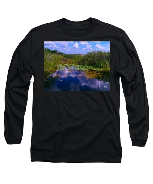 Reflecting In The Glades Long Sleeve T-Shirt