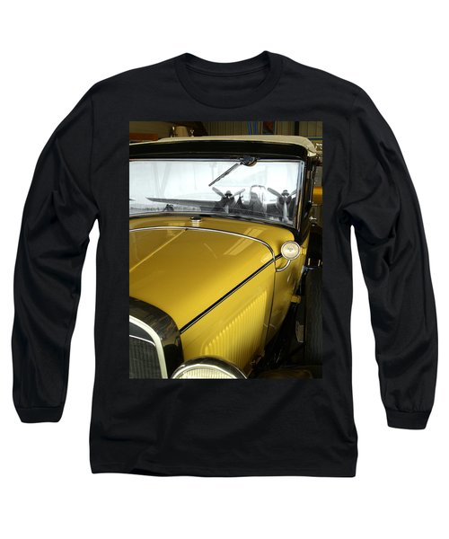 Reflection Of The Past Long Sleeve T-Shirt by Bill Gallagher