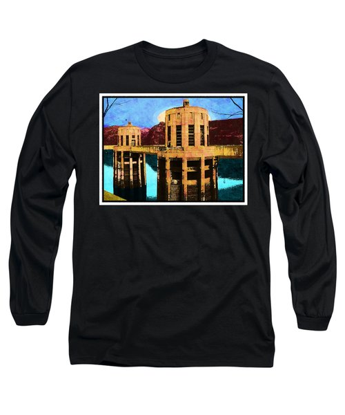 Reflections At Hoover Dam Long Sleeve T-Shirt