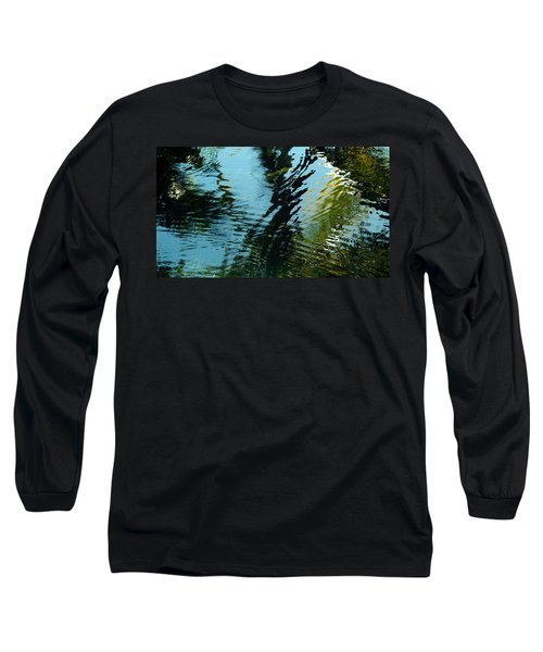 Reflections In A Fishpond Long Sleeve T-Shirt