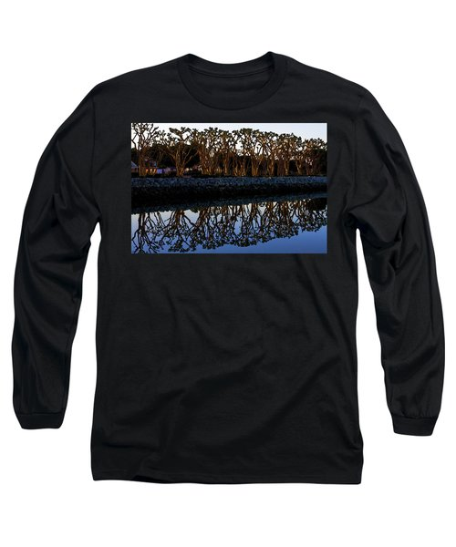 Long Sleeve T-Shirt featuring the photograph Reflections In First Light by Gary Holmes