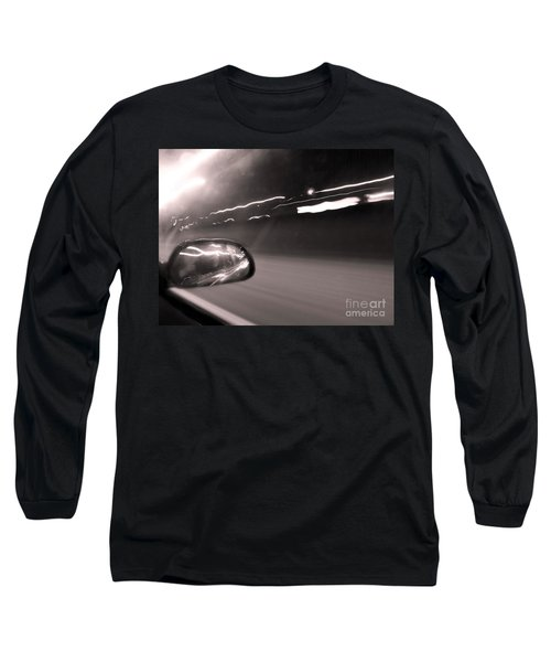 Reflections In The Night Long Sleeve T-Shirt
