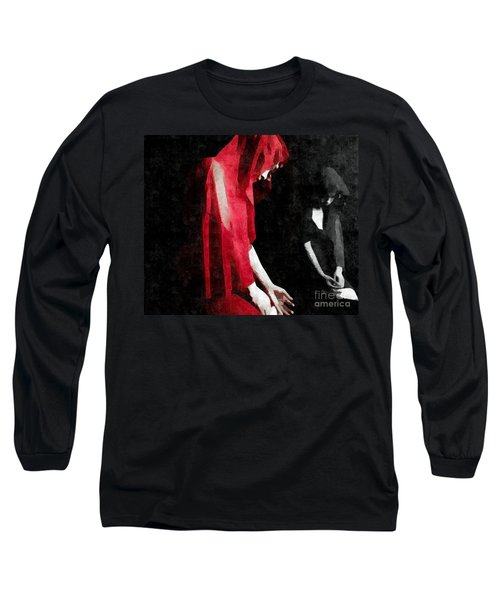 Reflections Of A Broken Heart Long Sleeve T-Shirt by Jessica Shelton