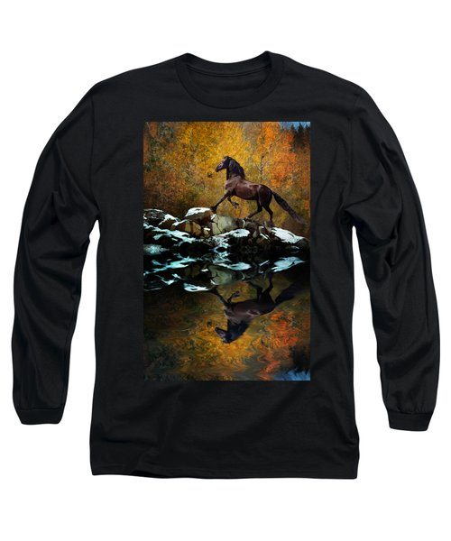 Reflections Of Fall Long Sleeve T-Shirt