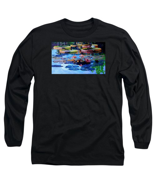 Reflections Of Nature's Beauty Long Sleeve T-Shirt by John Lautermilch
