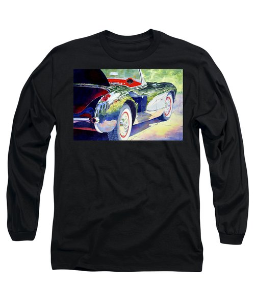 Reflections On A Corvette Long Sleeve T-Shirt