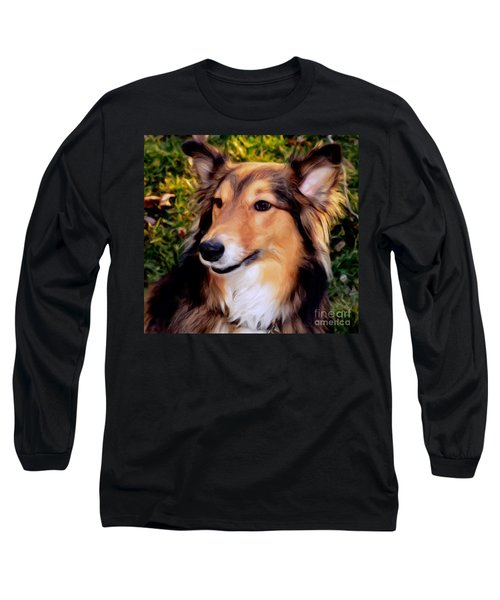Dog - Collie - Regal Shelter Dog Long Sleeve T-Shirt